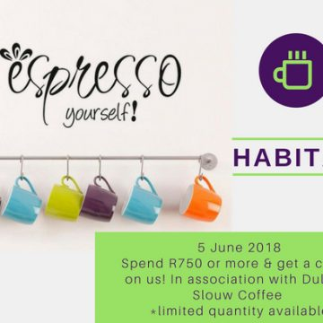 Espresso Yourself! 5 June 2018