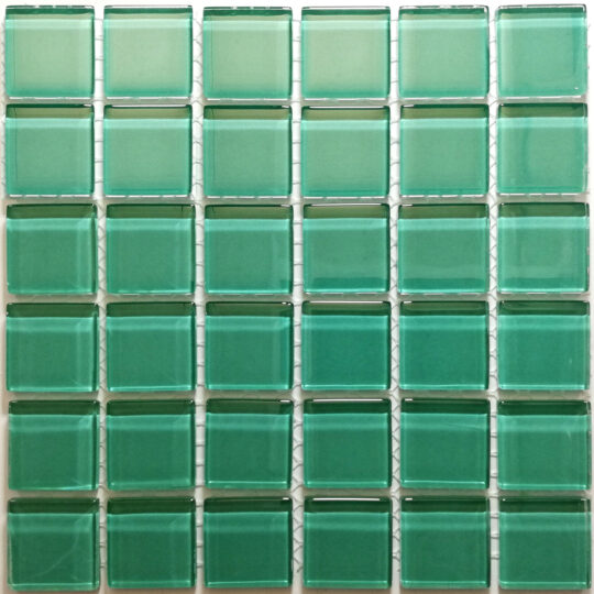 Teal Crystal Glass (Sheet Size 30x30cm)